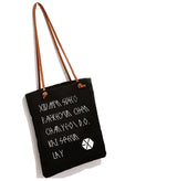 EXO canvas bag