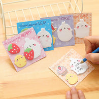 Cute Molang Rabbit N Times Self-Adhesive Memo Pad