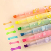Creative Star Shape Colorful Candy Color Highlighters