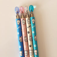 4 pc Cute Kawaii Lovely Cat & Paw Mechanical Pencil
