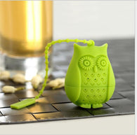 Owl Tea Bags Strainers Silicone