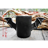 Morning Ceramic Mug Black Bat Style
