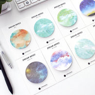 Natural Dream Series Self-Adhesive Memo Pad