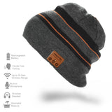 Knit Hats with Bluetooth Headphone