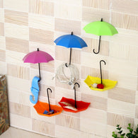 3pcs/lot Umbrella Shaped Creative Key Hanger