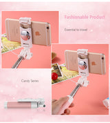 360 Degree Rotation Foldable Selfie Stick