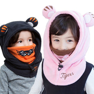 Animal Character Winter Hooded Hats for Kids