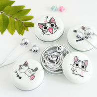 3.5mm In-Ear Stereo Cat Earphones