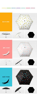 Mini Compact Folding Umbrella