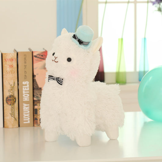 35cm Alpaca Plush with hat