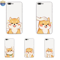 Shiba Design Painted Phone Case For iPhone 7 /7 Plus