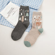 Winter 3D Cartoon Animals Socks