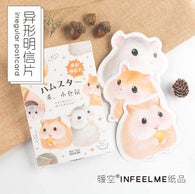 30 pcs Cute Little Hamster Greeting Card