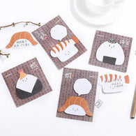 Creative Japanese Food Rice Roll Memo Pad