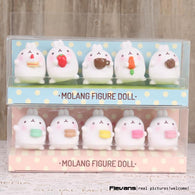 Lovely Cute Molang Rabbit PVC Figure Model