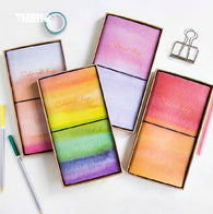 Creative Colorful Day PU Leather Cover Planner
