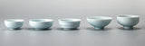 Chinese Tea Cups Porcelain Celadon Fish Teacup
