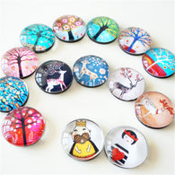 3pcs Cute Animal Crystal Glass Refrigerator Magnets