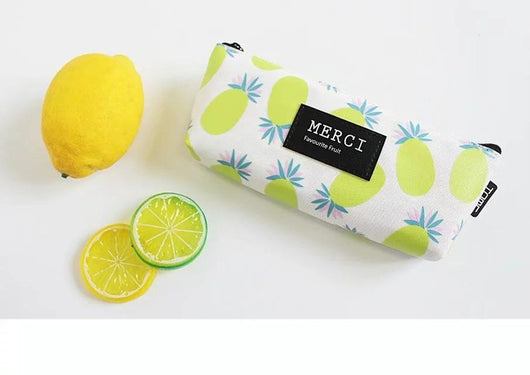 Fabric Fresh Fruits Pencil Case