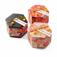 Cherry Blossom Hexagon Candy Gift Box