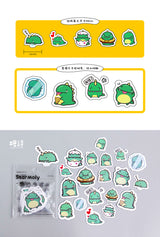 Little Dinosaur From Star Moly Diary Stickers