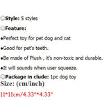 Bite Resistant Cute Animal Style Ball Toys for Dogs