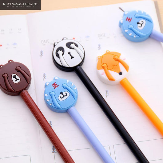 4Pcs Kawaii Erasable Gel Pen