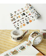 Cute Cat Style Washi Tape