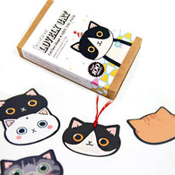 100 pcs/set Lovely Cat Card Bookmark