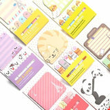 Animal Cat Panda Kawaii Sticky Notes