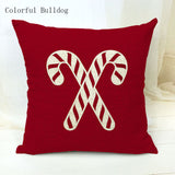 45Cmx45Cm Red Christmas Pillow cover