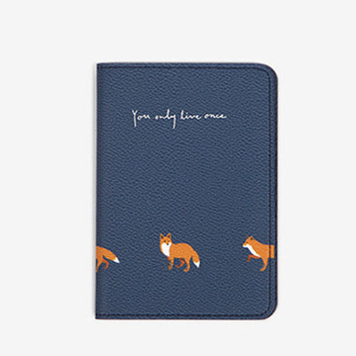 Fresh Flower Animal Passport Cover