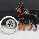 Pet dog keychain chihuahua