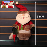 Retractable Christmas Standing Navidad Figurine