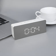 Multifunction Digital Mirror LED Alarm Clock