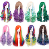 7Colors Long Natural Wave Cosplay Wigs