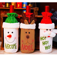 Wine Christmas Bottle Gift Decoration