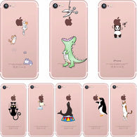 Cute Animals Spoof iPhone Cases