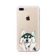 Soft Case for iPhone 5 5s SE- The year of Dog