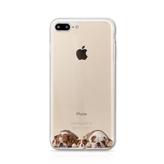 Soft Case for iPhone 7 PLUS- The year of Dog
