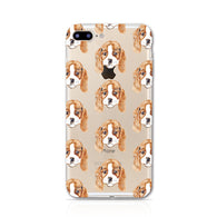 Soft Case for iPhone 8 PLUS - The year of Dog