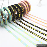 3Pcs/Set Foil Washi Tape