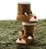 Reindeer Indoor Boots Slippers
