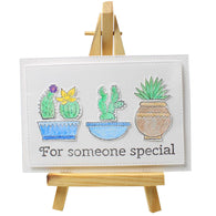Succulent Plants Transparent Clear Silicone Stamp