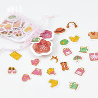 100 pcs/pack Love Sweet Thing Decorative Stickers
