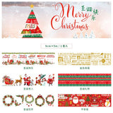 9 cm Wide Christmas Washi Tape