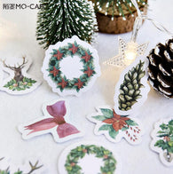 The Colorful Of Christmas Merry Christmas Decorative Stationery Stickers