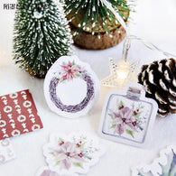 The Flower Of Christmas Decorative Stationery Stickers