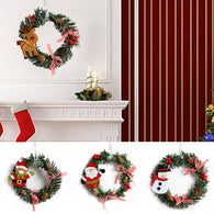 Small Christmas Decoration Garland Wreath