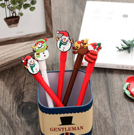 Special Christmas Stocking Snowman Gel Pen